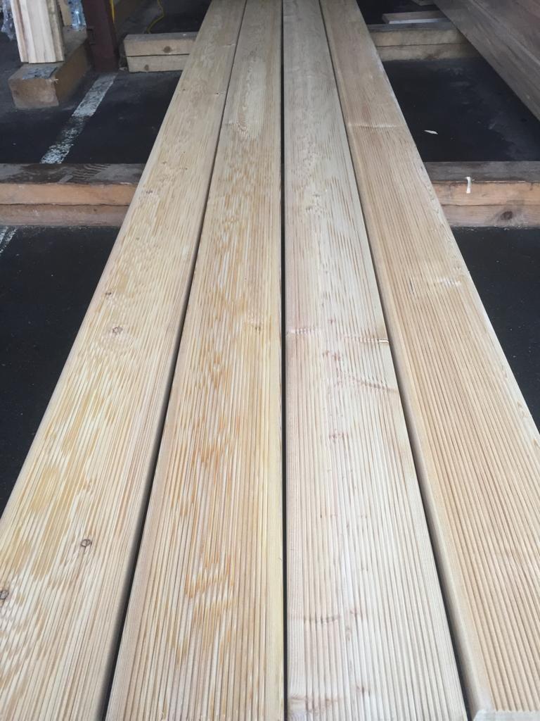 Террасная доска из лиственницы - сорт В 4м