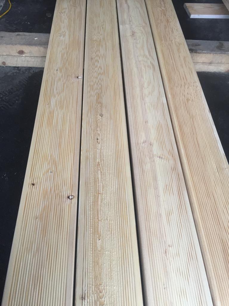 Террасная доска из лиственницы - сорт В 6м