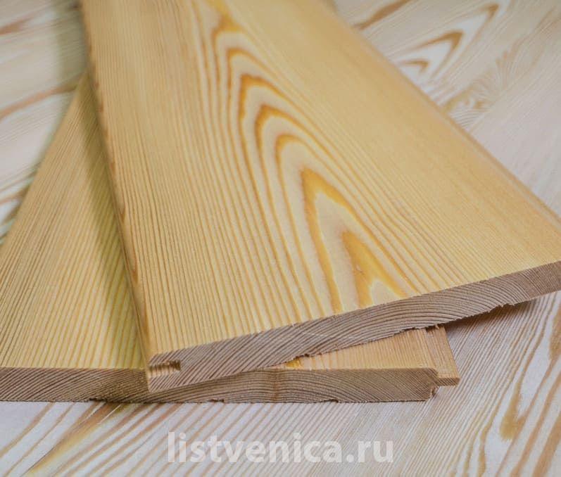Вагонка из лиственницы - сорт Экстра (14мм×120мм×4м)