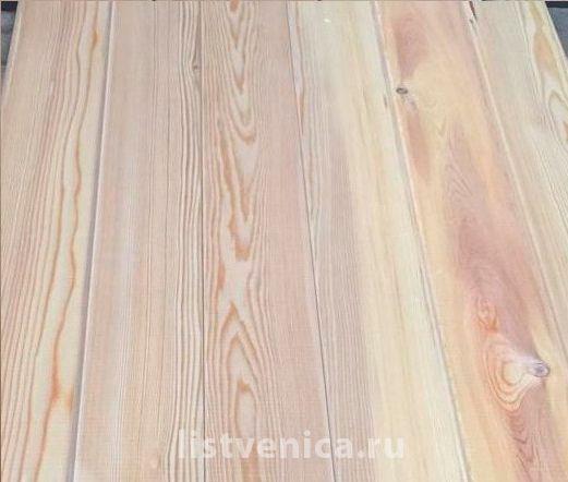 Вагонка из кедра - сорт B (14мм×140мм×2м)