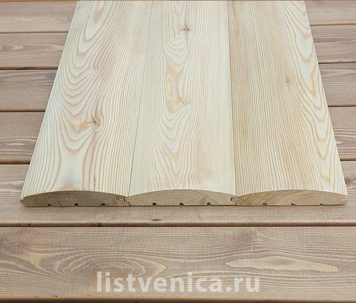 Блок-хаус - сорт Прима (28мм×140мм×3м)