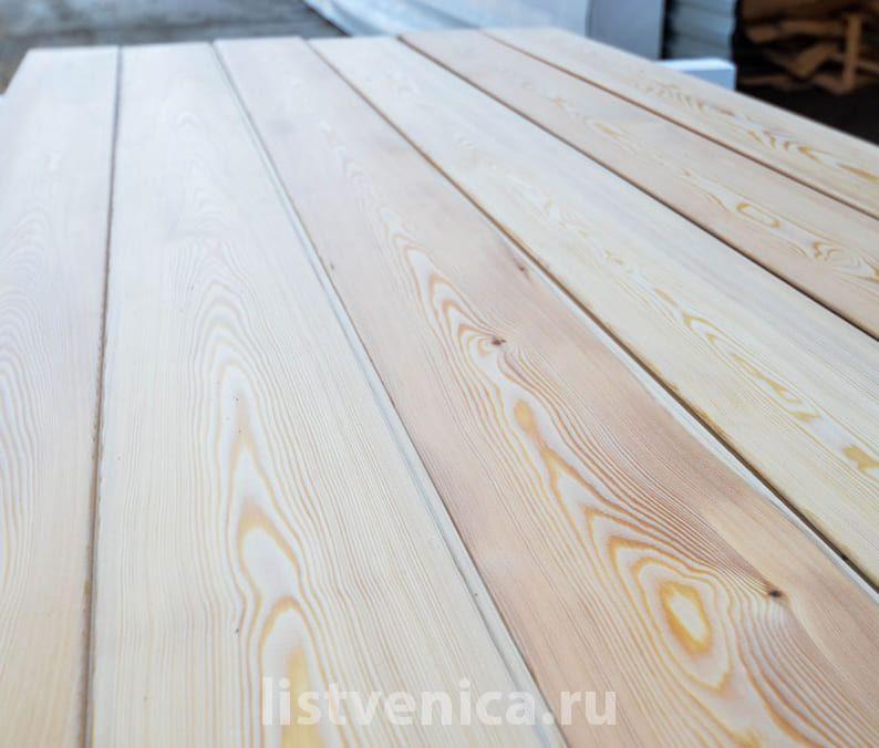 Вагонка из лиственницы - сорт Прима (14мм×96мм×4м)