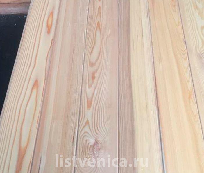 Вагонка из лиственницы - сорт A (14мм×120мм×3м)