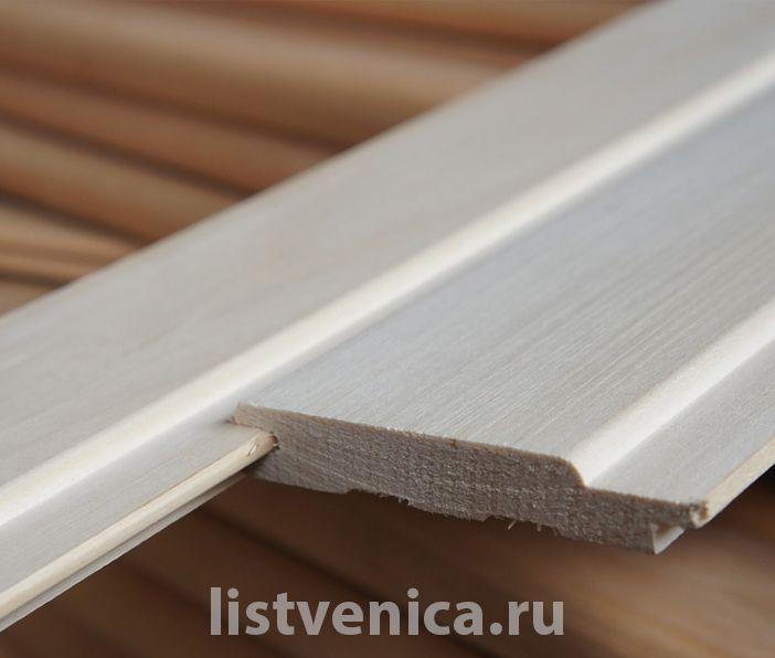 Вагонка из липы (Нижний Новгород) - сорт Экстра (14мм×96мм×1м)