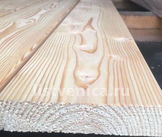 Палубная доска из лиственницы - сорт Прима (28мм×140мм×2м)