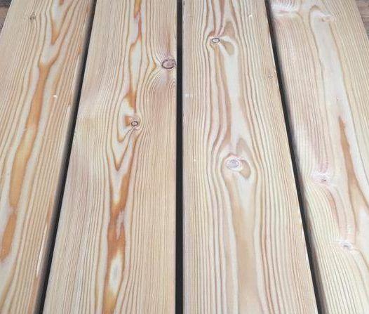 Палубная доска из лиственницы - сорт B 4м