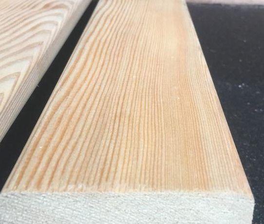 Планкен прямой - сорт Экстра (20мм×95мм×4м)