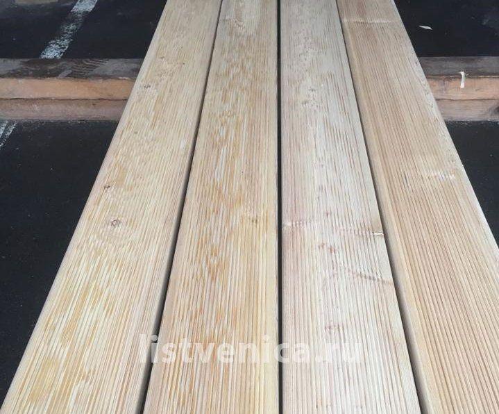 Террасная доска из Лиственницы - сорт B (28мм×142мм×3м)