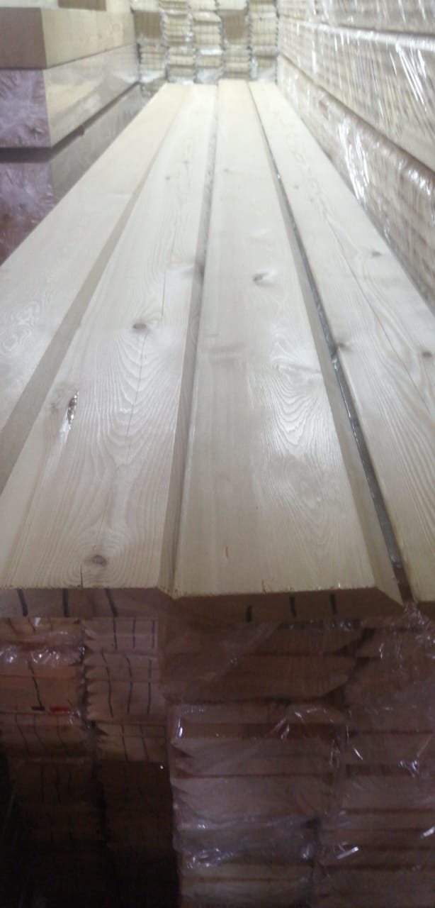 Планкен скошенный - сорт B (20мм×120мм×3м)