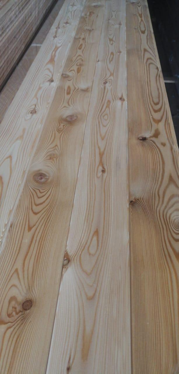 Вагонка из лиственницы - сорт C (14мм×96мм×4м)